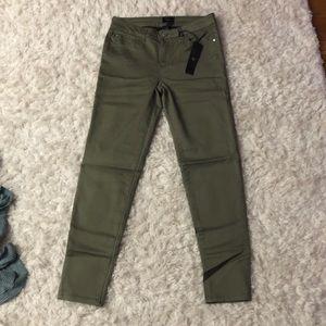 Denim - Green skinny jeans